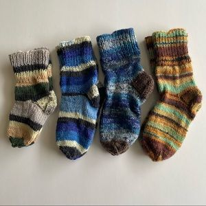 Handmade Socks Multicolour(3-12months)